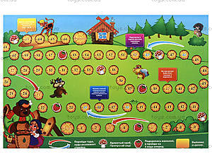 Настольная детская игра «Маша и Медведь», 183, игрушки