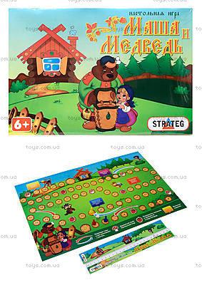 Настольная детская игра «Маша и Медведь», 183