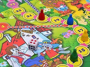 Настольная игра-бродилка «Кот в сапогах», , цена