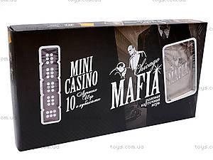 Настольная игра «Мафия+казино», , цена