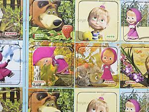 Настольная игра Мемос «Времена года» с Машей и Медведем, VT2104-02, детские игрушки