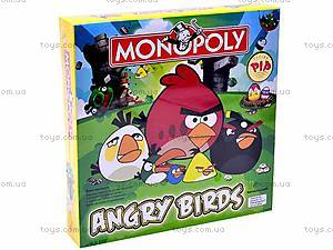 Настольная игра «Монополия Angry birds», 2831R-3, купить