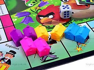 Настольная игра «Монополия Angry birds», 2831R-3, фото