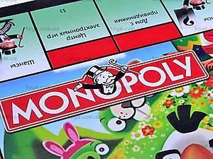 Настольная игра «Монополия Angry birds», 2831R-3, магазин игрушек