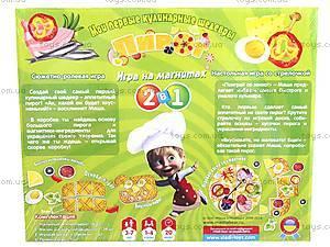 Настольная игра на магнитах «Пирог», VT1504-22, детские игрушки