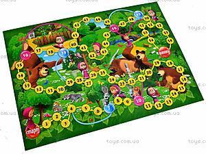 Настольная игра «Приключения Маши» 3в1 , , детские игрушки