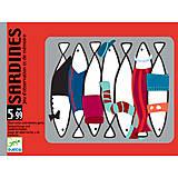 Настольная игра «Сардины», DJ05161, игрушки