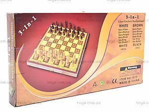 Настольная игра «Шашки и шахматы», DL1015, купить