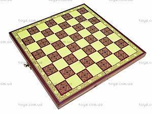 Настольная игра «Шашки и шахматы», DL1015, цена