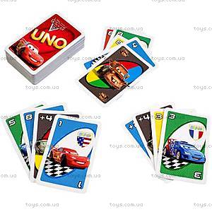 Настольная игра UNO «Тачки 2», T8230, купить