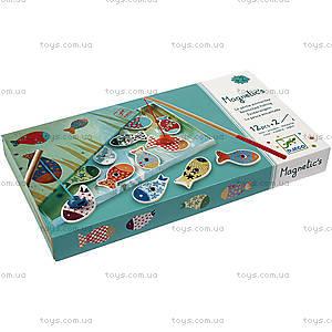Настольная магнитная игра «Веселая рыбалка», DJ01650