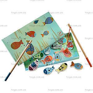 Настольная магнитная игра «Веселая рыбалка», DJ01650, игрушки