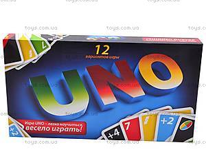 Настольная развивающая игра UNO, , купить