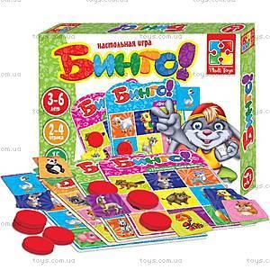 Настольная игра «Бинго», VT2106-02, детские игрушки