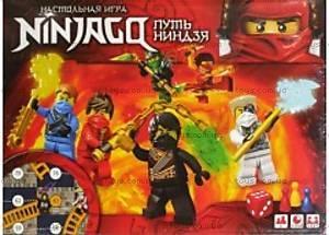 Настольная игра детская «Нинзяго»,