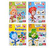 Настольная игра для детей «Фикси Игры», VT2107-04, купити