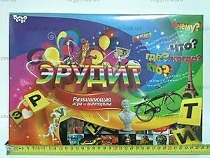 Настольная игра «Эрудит», украинская, DT G26