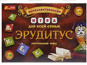 Настольная игра «Эрудитус», 12120031Р, цена
