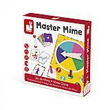Настольная игра Janod «Мастер мимики», J02751, отзывы