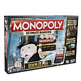 Настольная игра «Монополия с банковскими картами», B6677, отзывы