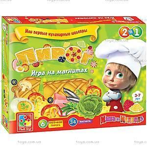 Настольная игра на магнитах «Пирог», VT1504-22, магазин игрушек