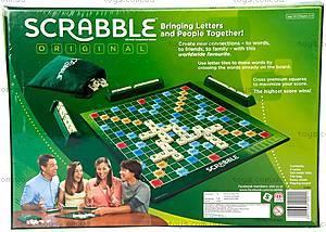 Настольная игра оригинал «Скребл», Y9592, купить