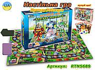 Настольная игра «Приключения Робокаров», RTN5689