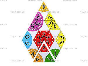 Настольная игра для детей «Тримино» , 2827, фото