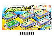 Настольный бильярд, несколько игр в наборе, 628-15A, фото