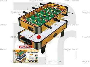 Настольный футбол и хоккей, 2в1, ZC6001A-2