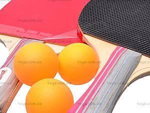 Настольный теннис и два шарика, MS0320, фото