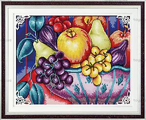 Натюрморт «Фрукты» для вышивки крестиком, J011