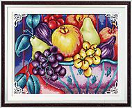 Натюрморт «Фрукты» для вышивки крестиком, J011, фото