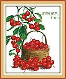 Натюрморт «Сладкие ягоды», J043, фото
