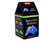 Научные мини-игры «Выращиваем кристаллы», синие, 0338