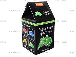 Научные мини-игры «Выращиваем кристаллы», зеленые, 0340