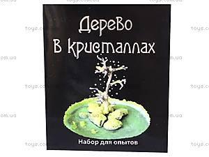 Научные мини-игры «Дерево в кристаллах», 0336, цена