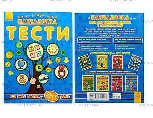 Тесты «Что знает малыш в 5-6 лет», на украинском, С479024У