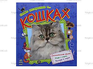 Книга «Самое интересное о кошках», С14274Р