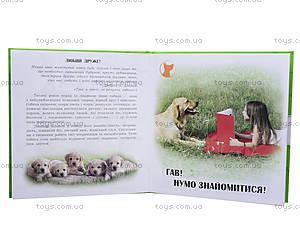 Детская книга «О собаках», С14280У, фото