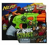 Игрушечный бластер Нерф «Зомби Страйк Двойной Удар», A6562, фото