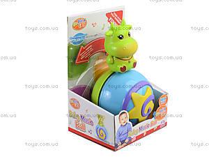 Неваляшка «Мяч», 381A-D, детские игрушки