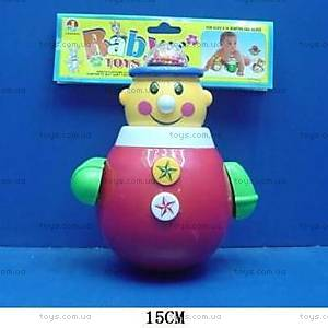 Игрушка-неваляшка «Клоун», 6369