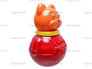 Неваляшка «Кот Василий», 01663, магазин игрушек