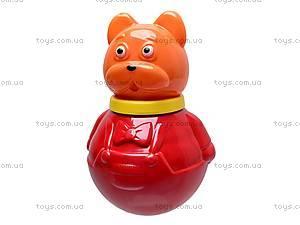 Неваляшка «Кот Василий», маленькая, 01684, детские игрушки