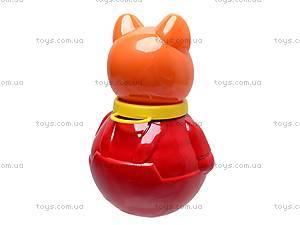Неваляшка «Кот Василий», средняя, 01627, магазин игрушек