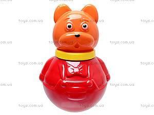 Неваляшка «Кот Василий», средняя, 01627, toys