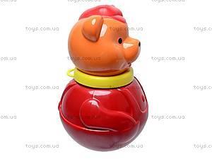 Неваляшка «Мишка в кепке», маленькая, 01677, купить