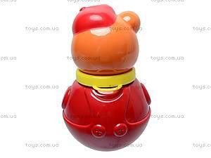 Неваляшка «Мишка в кепке», маленькая, 01677, цена