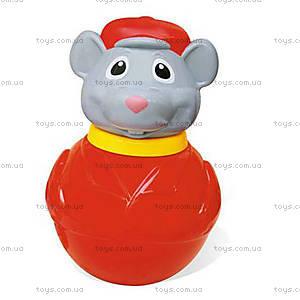 Неваляшка «Мышка в кепке», 01687